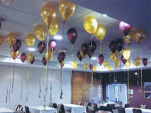 D coration ballons pour mariage draguignan deco ballon - Combien mesure une table de salle des fetes ...